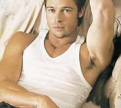 Brad Pitt, una de las estrellas más sexys del cine